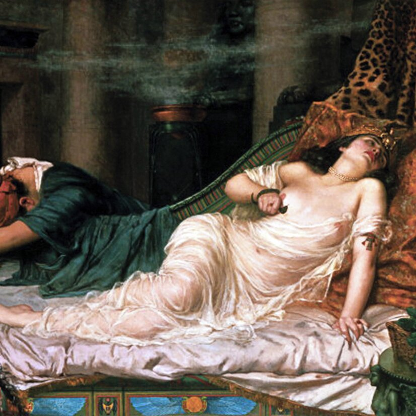 The death of cleopatra arthur
