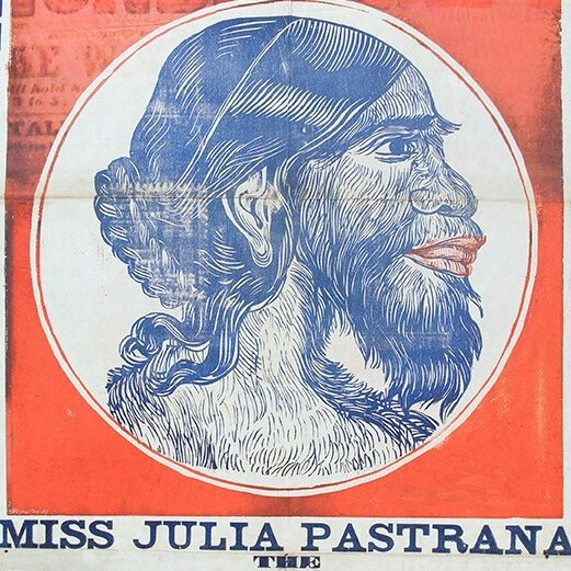 Julia pastrana  the nondescript  advertised for wellcome l0033804 1