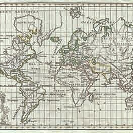 1784 vaugondy map of the world on mercator projection   geographicus   world vaugondy 1784
